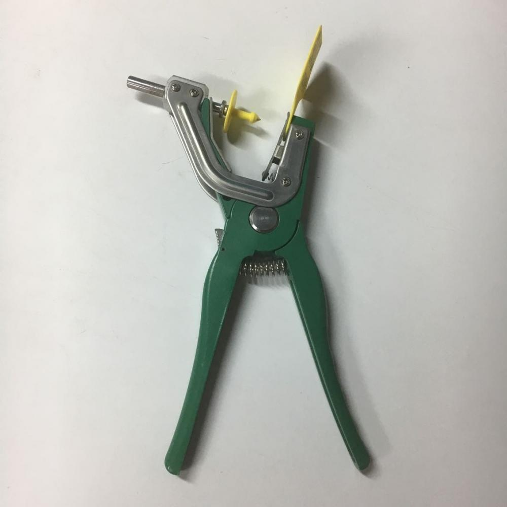 Animal Ear Tag Plier Green 3