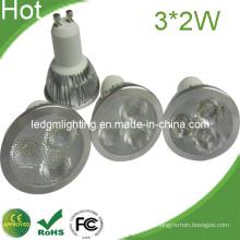 Neueste hochwertige drei-in-One-Objektiv 6W LED Spot-Licht