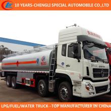 Caminhão de tanque do óleo do caminhão de petroleiro 8X4 25cbm 35cbm