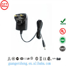 rohs 9V 1A AC DC power adapter with UK plig