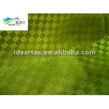 Tissu Satin jacquard de polyester pour les vêtements de mode