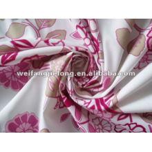 Tissu de polyester imprimé à bas prix pour le tissu de lit de polyester Tissu de polyester imprimé à prix réduit