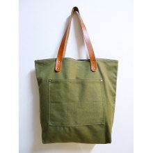 Custom canvas handtas katoenen tas