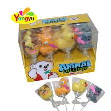 Display Box Halal Fruits Animal Shape Lollipop
