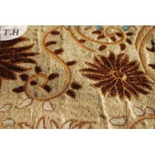 Diseño de la tela de la cubierta del sofá de tapicería Jacquard Chenille