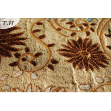 Jacquard Chenille Upholstery Sofa Cover Fabric Design