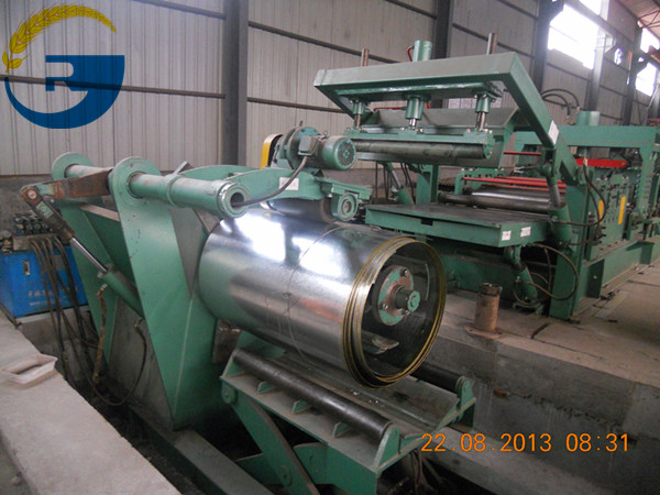 raw steel-sheet-feeding
