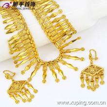 Xuping Preço especial Fashion Jewelry Set banhado com 24k cor de ouro (62782)
