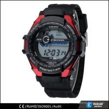 Instructions de montre à cristaux liquides multifonctions, boîte cadeau de montre