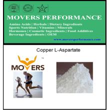 Grado alimenticio de alta calidad del L-Aspartato de cobre, grado de la alimentación