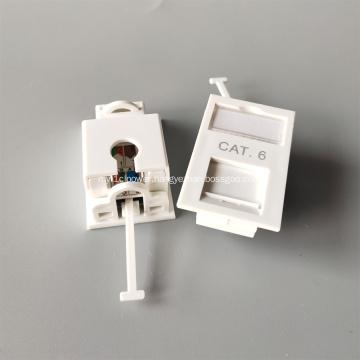 CAT6 wall socket short size plate UK Type