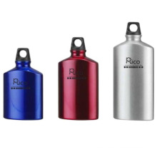 Aluminum Oval Shape Water Bottle 400ml 500ml 600ml
