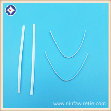 Single Core Nose Wire For Nonwoven Face Mask