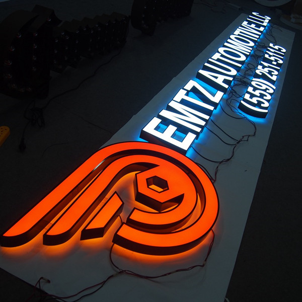 Acrylic Face Backlit Led Light Channel Letters