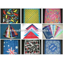 fashionable cotton bandana with allover printing