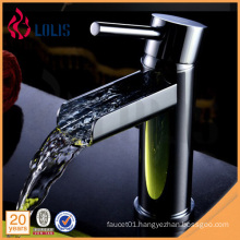 Building materials single lever basin waterfall faucet chrome