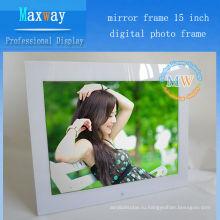 Multi функциональной 15 цифровой фото рамка с видео петли