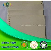 Marfil De Color Anti-Curled Smooth Impresión En Blanco De Cartón