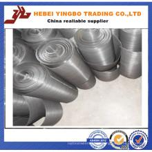 Malha de aço inoxidável de aço inoxidável ultra fino / malha de arame de aço inoxidável