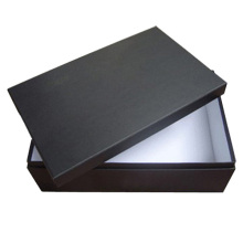 Black Packing Shoe Box with Lid (FP7015)