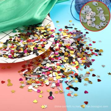 Оптовая душа ребенка украшения/детские кормления полотенце/ребенок полотенце слюны формы свободные драгоценных камней