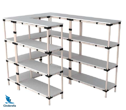 Pipe Rack Workbench for Electronic Products