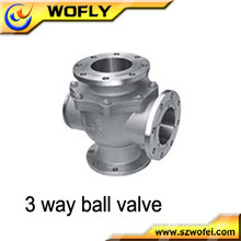 Stainless Steel 3 Way Ball Valve Price