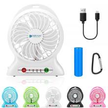 Portable USB Standing Fan Mini Fan Bedroom Beyond