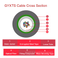 Gyxts Central Lose Tube Outdoor Optisches Kabel