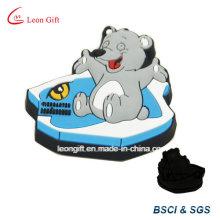 Bear / elefante Animal Design PVC borracha imã de geladeira