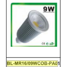 9W Dimmable/Non-Dimmable MR16 COB LED Spotlight