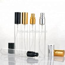 Alta qualidade de vidro tabular spray de amostra 10 ml 2 ml de vidro frasco para perfume