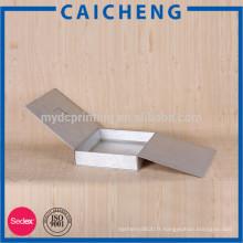 Boîte en carton imprimée mat adaptée aux besoins du client de plat pour des vêtements
