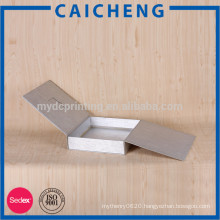 Customized matt printed flat pack cardboard box for clothes