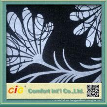 El último diseño popular reunió el material de la tela de poliéster del estilo para los sistemas del sofá