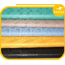 Nueva Guinea Brocade Bazin Riche Africana Brillante Ropa Tela Textil Shadda Diferentes Colores Para Fiesta De Boda FEITEX