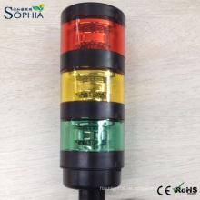 IP67 Drei Stapel LED-Signalturm-Licht mit 3 Jahren Garantie