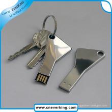 Metal Unique Shape Keychain USB
