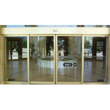 Below 60dB Glass Sliding Frame Induction Automatic Door