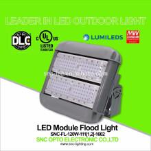 O UL DLC alistou a luz de inundação do diodo emissor de luz de 347V 120W com o motorista bom do HVG do meio