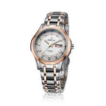 Schmucksache-automatische Edelstahl-Mann-Armbanduhr