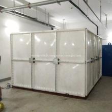 Réservoir d'eau FRP SMC pour le traitement de l'eau potable
