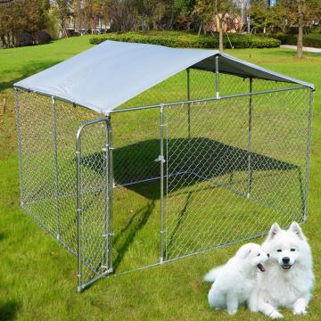 Galvanized Extra Large Dog Dog Metal Murah