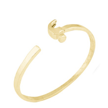 Brazalete de la pulsera del oro del diseño del brazalete del pun ¢ o de los hombres de la señora de la calidad de Hight con precio