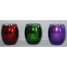 Teelicht oder Votive Glas Kerzenständer für Weihnachten (DRL06169)