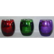 Tealight ou vela de vidro votiva titular para o Natal (DRL06169)