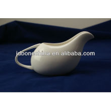 white body crockery porcelain new bone china gravy boat kitchen table ware china manufacture