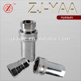 ISO 7241 A male female coupling with double valves