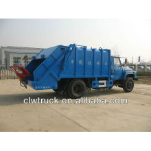 DongFeng 140 Refuse Compactor Truck-8000L