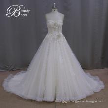 Tea Length Champagne Wedding Dresses
